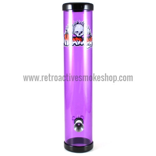 "Headway 10"" Acrylic Steamroller - Purple - Retro Active Smoke Shop"