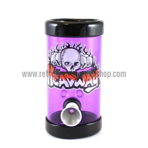 "Headway 4"" Acrylic Steamroller - Purple - Retro Active Smoke Shop"