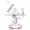 Pulse Glass Double Showerhead Vapor Rig - Purple - Retro Active Smoke Shop  - 3