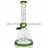 "Quantum Sci 8"" Mini Beaker with Segway Perc - Green - Retro Active Smoke Shop  - 1"