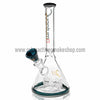 "Quantum Sci 8"" Mini Beaker with Segway Perc - Teal - Retro Active Smoke Shop  - 2"