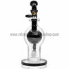Quantum Sci Orb Bubbler Bong with Inline Perc - Black - Retro Active Smoke Shop  - 2