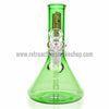 "Headdies 8"" Scientific Glass Beaker - Green - Retro Active Smoke Shop  - 2"