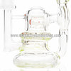 "Flo 4.5"" Mini 10mm Pendant Rig - Slyme - Retro Active Smoke Shop  - 3"