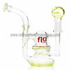 "Flo 4.5"" Mini 10mm Pendant Rig - Slyme - Retro Active Smoke Shop  - 2"