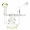 "Flo 4.5"" Mini 10mm Pendant Rig - Slyme - Retro Active Smoke Shop  - 1"