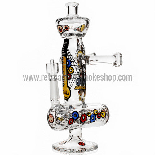 Jerome Baker Designs Inline Perk Robot Rig - Mind Control - Retro Active Smoke Shop  - 1