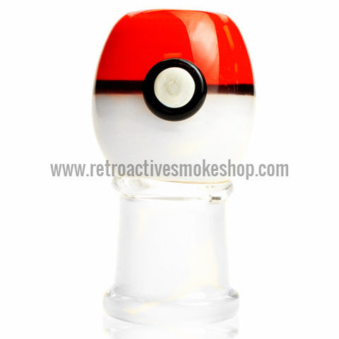 Empire Glassworks Pokeball Dome - 18mm - Retro Active Smoke Shop