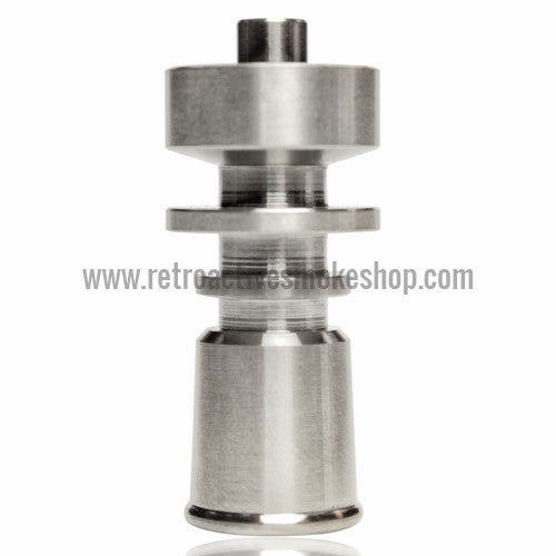 RASS 10mm Female Grade 2 Titanium Domeless Nail - Retro Active Smoke Shop  - 1