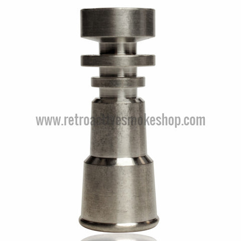 RASS 10mm/14mm Female Grade 2 Titanium Domeless Nail - Retro Active Smoke Shop  - 1