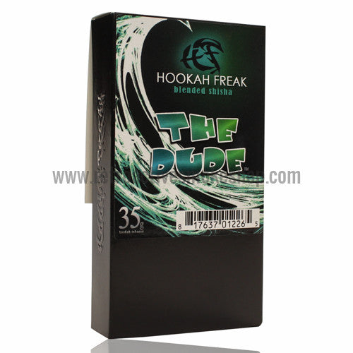 Hookah Freak 35g Box Shisha Tobacco - The Dude - Retro Active Smoke Shop