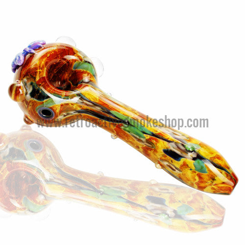 Empire Glassworks Butterfly Spoon Hand Pipe - Retro Active Smoke Shop  - 1