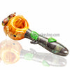 Empire Glassworks Greenery Owl Spoon Hand Pipe - Retro Active Smoke Shop  - 1