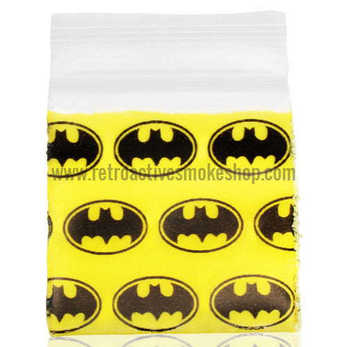 Apple Bags 1010 Ziplock Baggies (100 Pack) - Batman - Retro Active Smoke Shop