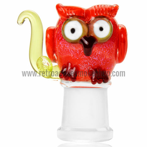 Empire Glassworks Owl Dome - 18mm - Retro Active Smoke Shop