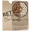 Retro Active Smoke Shop Grinder Card with Roach Holder - Retro Active Smoke Shop  - 3