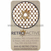 Retro Active Smoke Shop Grinder Card with Roach Holder - Retro Active Smoke Shop  - 4