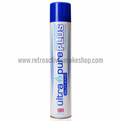 Ultra Pure Plus Premium European Butane 400ml - Retro Active Smoke Shop  - 1
