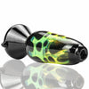 ATX Glassworks Lava Lamp Chillum Pipe - Slyme - Retro Active Smoke Shop  - 3