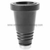Sahara Smoke Metal Hose Adapter - Black Matte - Retro Active Smoke Shop  - 3