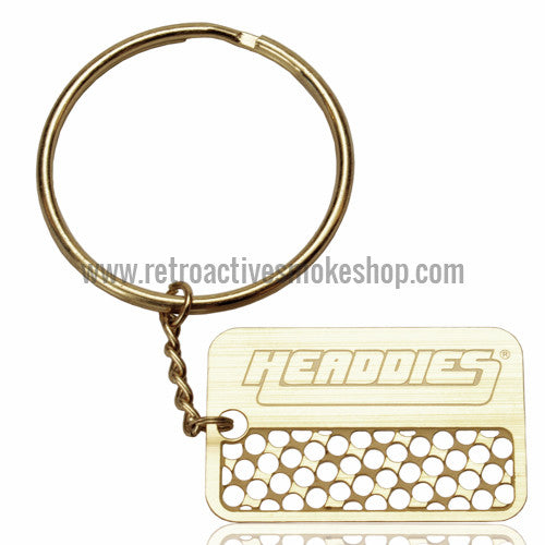 [product type] - (CLEARANCE) Headdies Keychain Grinder Card - Retro Active Smoke Shop