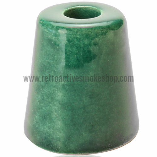 RASS Ceramic Cigarette Snuffer - Green - Retro Active Smoke Shop