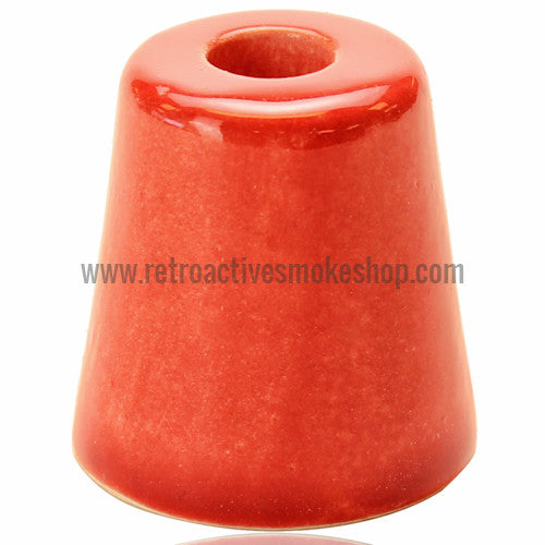 RASS Ceramic Cigarette Snuffer - Red - Retro Active Smoke Shop