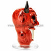 The Crush Glass Insane Asylum Face - Devil - Retro Active Smoke Shop  - 3