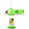 The Crush Torch Lighter Oil Rig - Green - Retro Active Smoke Shop  - 2