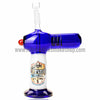 The Crush Torch Lighter Oil Rig - Blue - Retro Active Smoke Shop  - 2