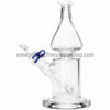 Grav Labs Clear Helix Flare Water Pipe - Blue - Retro Active Smoke Shop  - 3