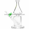 Grav Labs Clear Helix Flare Water Pipe - Green - Retro Active Smoke Shop  - 3