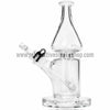 Grav Labs Clear Helix Flare Water Pipe - Black - Retro Active Smoke Shop  - 3