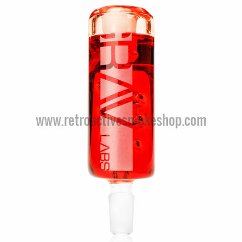 Grav Labs 14mm Glycerin Coil Chiller - Red - Retro Active Smoke Shop  - 1
