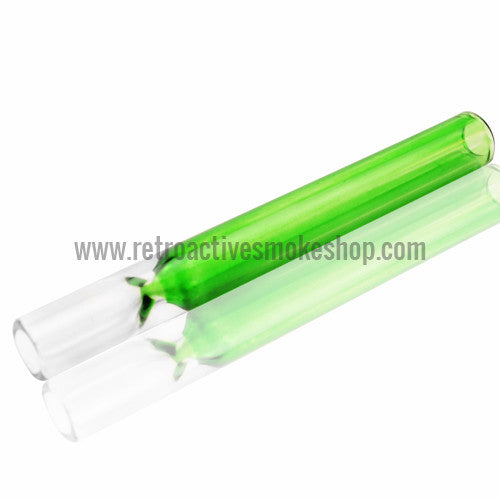 RASS Colored Glass Bat - Green - Retro Active Smoke Shop  - 1