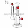 "RASS 5"" Mini ""Spore"" Oil Rig Bubbler - Purple - Retro Active Smoke Shop  - 1"
