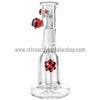 "RASS 5"" Mini ""Spore"" Oil Rig Bubbler - Purple - Retro Active Smoke Shop  - 3"