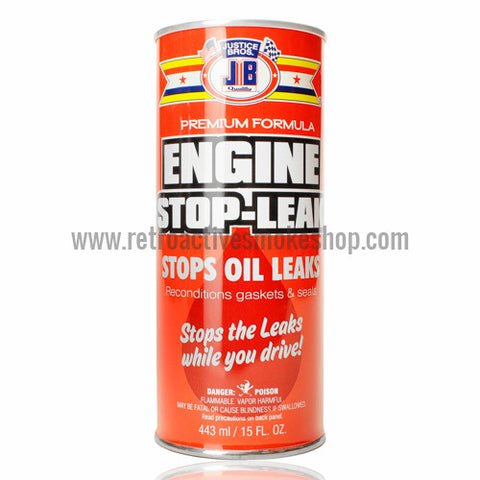 RASS Justice Bros Engine Stop-Leak Stash Can - Retro Active Smoke Shop  - 1