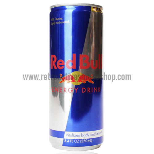 RASS Red Bull Energy Drink Stash Can - Retro Active Smoke Shop  - 1