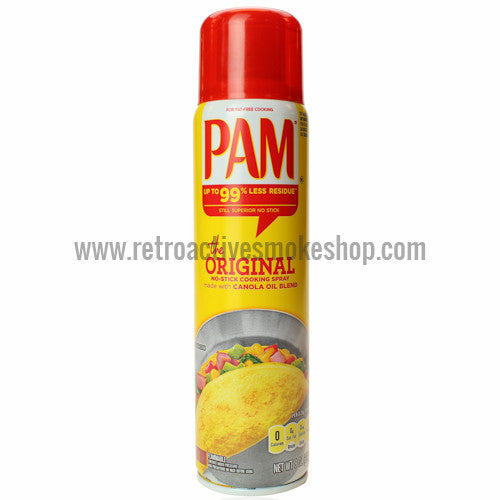 RASS PAM Cooking Spray Stash Can - Retro Active Smoke Shop  - 1