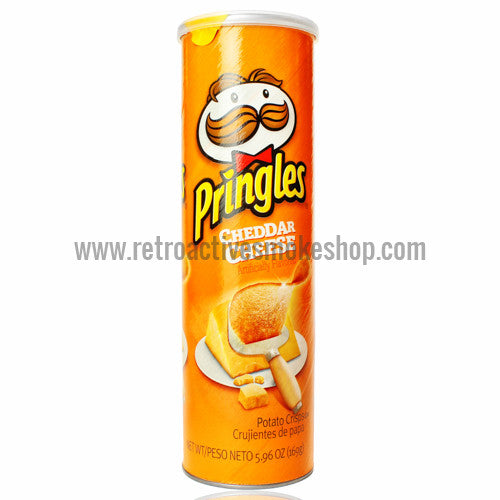 RASS Pringles Cheddar Cheese Stash Can - Retro Active Smoke Shop  - 1