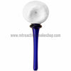 Matty White Golf Ball Tee Spoon Hand Pipe - Blue - Retro Active Smoke Shop  - 2