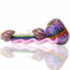 Alan Balades Heady Switchback Hammer - Purple/Rainbow - Retro Active Smoke Shop  - 5