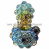 Harold Durbin Nubby Spoon Hand Pipe - Multi Color - Retro Active Smoke Shop  - 3