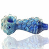 Harold Durbin Nubby Spoon Hand Pipe - Blue - Retro Active Smoke Shop  - 2