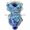 Harold Durbin Nubby Spoon Hand Pipe - Blue - Retro Active Smoke Shop  - 4