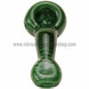 Casey Zucco Colored Tornado Glass Hand Pipe - Green - Retro Active Smoke Shop  - 3
