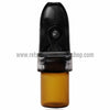 RASS Snuff Bullet with Amber Vial - Retro Active Smoke Shop  - 5