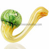 RASS Wrap & Rake Fumed Sherlock Hand Pipe - Green - Retro Active Smoke Shop  - 1