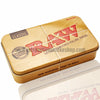 Raw Rectangle Pop Top Metal Tin - Retro Active Smoke Shop  - 1